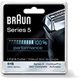 Braun Series 5 51S Replacement Parts, Foil Head Shaver
