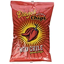 Diego's Potato Chips Red Chili Potato Chips, 5.0 Ounce