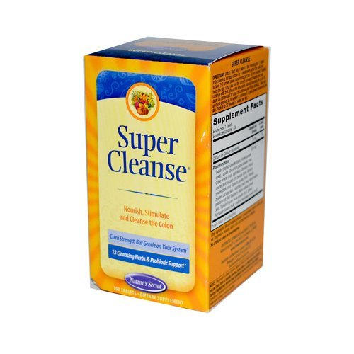 NATURE'S SECRET SUPER CLEANSE, 100 TAB by Nature's Secret