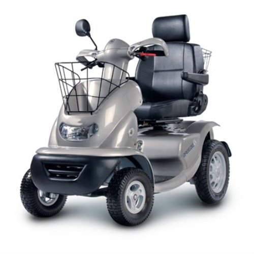 Breeze S 4-Wheel Luxury Electric Mobility Heavy Duty Scooter with Batteries
