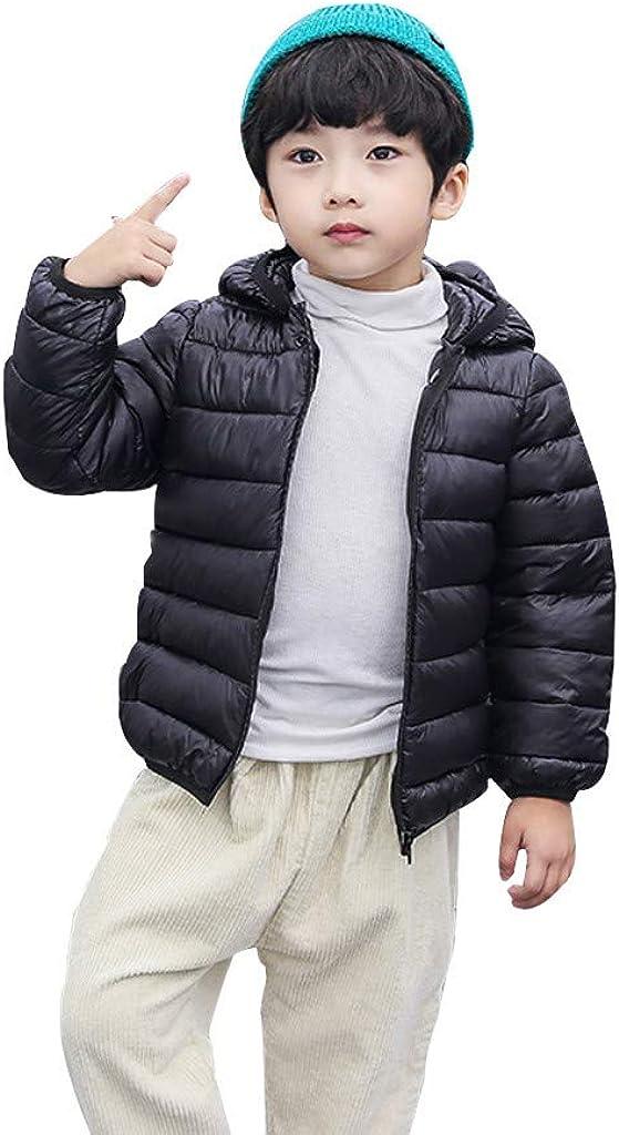 V/êtement B/éb/é PENNGE Les Enfants Gar/çons Fille Hiver Manteaux Veste des Gamins Zip fran/çais /Épais Oreilles Neige Encapuchonn/é Outwear