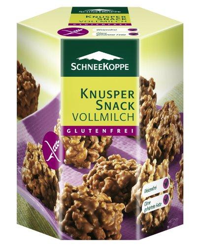 Schneekoppe Knusper-Snack Vollmilch 125g, 2er Pack (2 x 125 g)