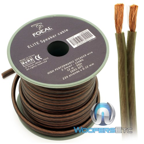ES25 - Focal Audio 12 M (39.37 Feet) Elite Series Speaker Cable for Utopia and K2 Power - K2 Power Focal