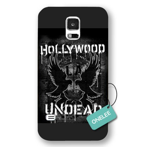Onelee(TM) - Hollywood Undead Forsted Samsung Galaxy S5 Case & Cover - Black 4