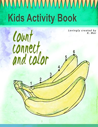 Download Kids Activity Book: Count Connect and Color PDF