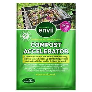 Envii Compost Accelerator - Acceleratore Compostaggio Organico - 12 Pastiglie 2 spesavip