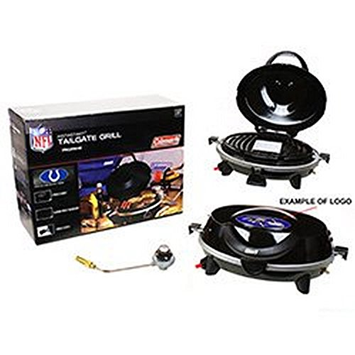 NFL Licensed Indianapolis Colts Instastart Tailgate 5000 BTU Propane Grill by Coleman