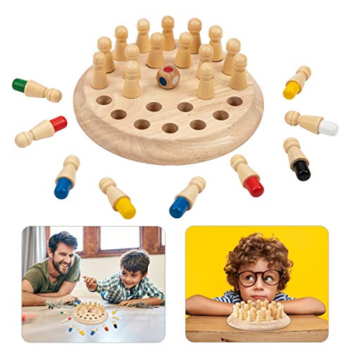 So great to see wooden games!