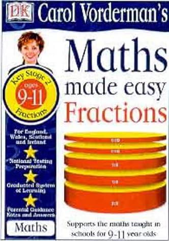 math worksheet : maths made easy fractions workbook carol vordermanu0027s maths made  : Fractions Made Easy