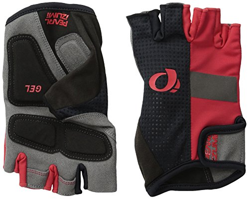 Pearl iZUMi Ride Men's ELITE Gel Gloves, True Red, Large