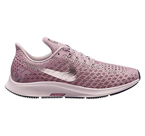 Nike Womens Rose - NIKE Womens Air Zoom Pegasus 35 Running Shoes (8 B US, Elemental Rose/Barely Rose/Vintage Wine)