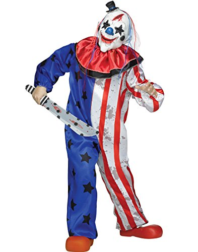 Scary Kid Clown (Evil Clown Kids Costume)