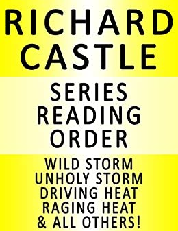 Naked Heat by Richard Castle (2010, Hardcover) First Edition