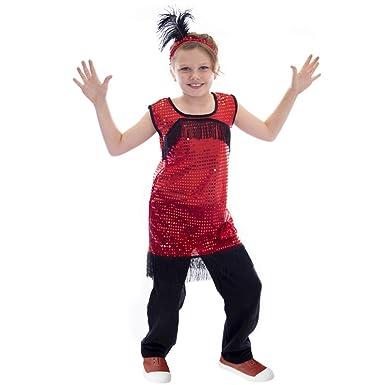 Amazon.com: Disfraz de lujo para niñas de los años 20 – Gran ...