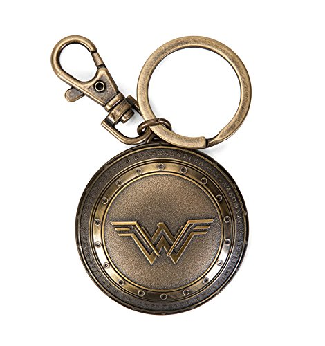 DC Superman V Batman Wonder Woman Shield Pewter Key Ring,one Size