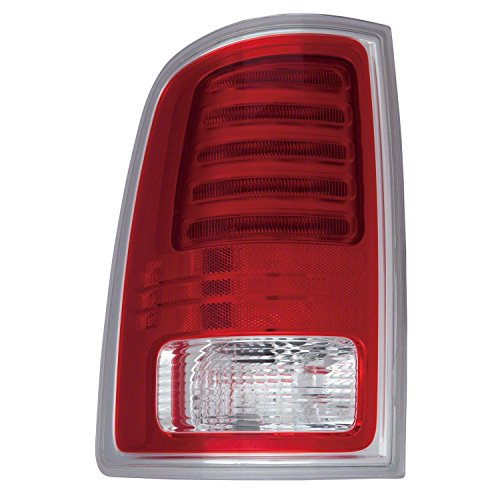 GetAllParts CH2800203C New Aftermarket Driver Side Rear Tail Lamp Assembly 68093079AC
