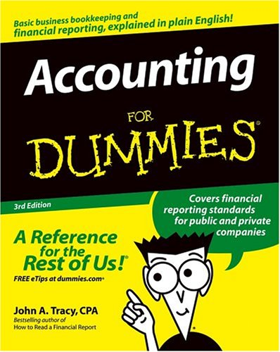 100 best selling accounting books of all time bookauthority book cover of john a tracy accounting for dummies fandeluxe Choice Image