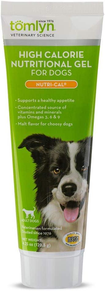 Tomlyn High Calorías Gel Nutricional para Perros, (Nutri-Cal) 4.25 oz