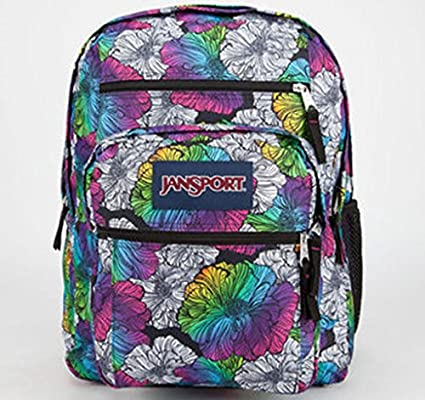 Amazon.com   Jansport Big Student Backpack - Multi Ombre Floral   Sports    Outdoors d5607594272a1