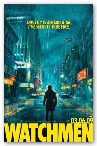 amazon com watchmen rorschach rain 24 x36 art print poster