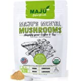 Mental Mushrooms – Lions Mane, Chaga, Reishi, Cordyceps, 8:1 Extract Powder, Immune System Booster & Nootropic Brain Supplement, Natural Energy, Stress Relief, Memory, Liver Support, Organic