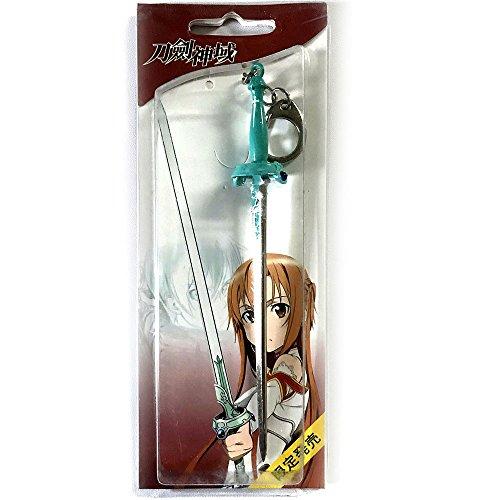 Anime SAO Sword Art Online Asuna espada llavero