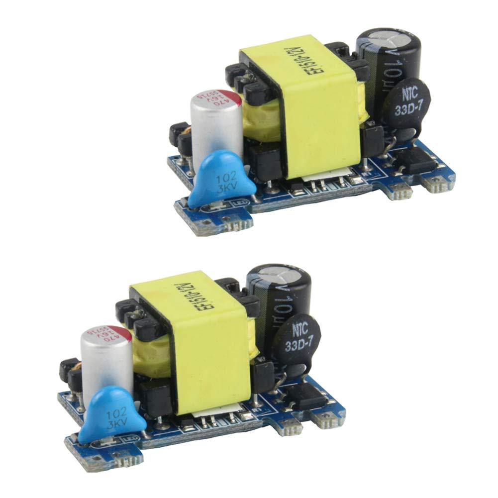12 V 120 V M/ódulo convertidor de Corriente alterna 2 Unidades 220 V Placa de Fuente de alimentaci/ón aislada 230 V a CC 5 V 110 V