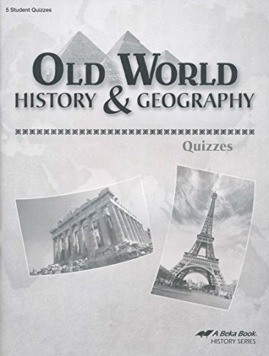 A Beka Old World History and Geography Quizzes Fourth for sale  Delivered anywhere in USA