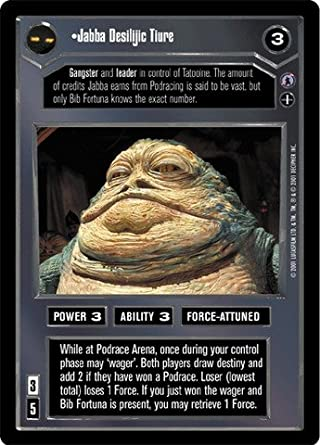 Star Wars CCG Reflections III Bib Fortuna