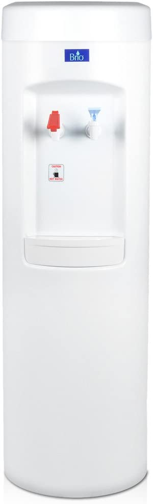 White BottleLess Water Purification Cooler with 1,500-Gallon capacity water filtration and installation kit. From BottleLess Direct Model BDX1-WK . Dispenses Hot Cold water. Also available in black