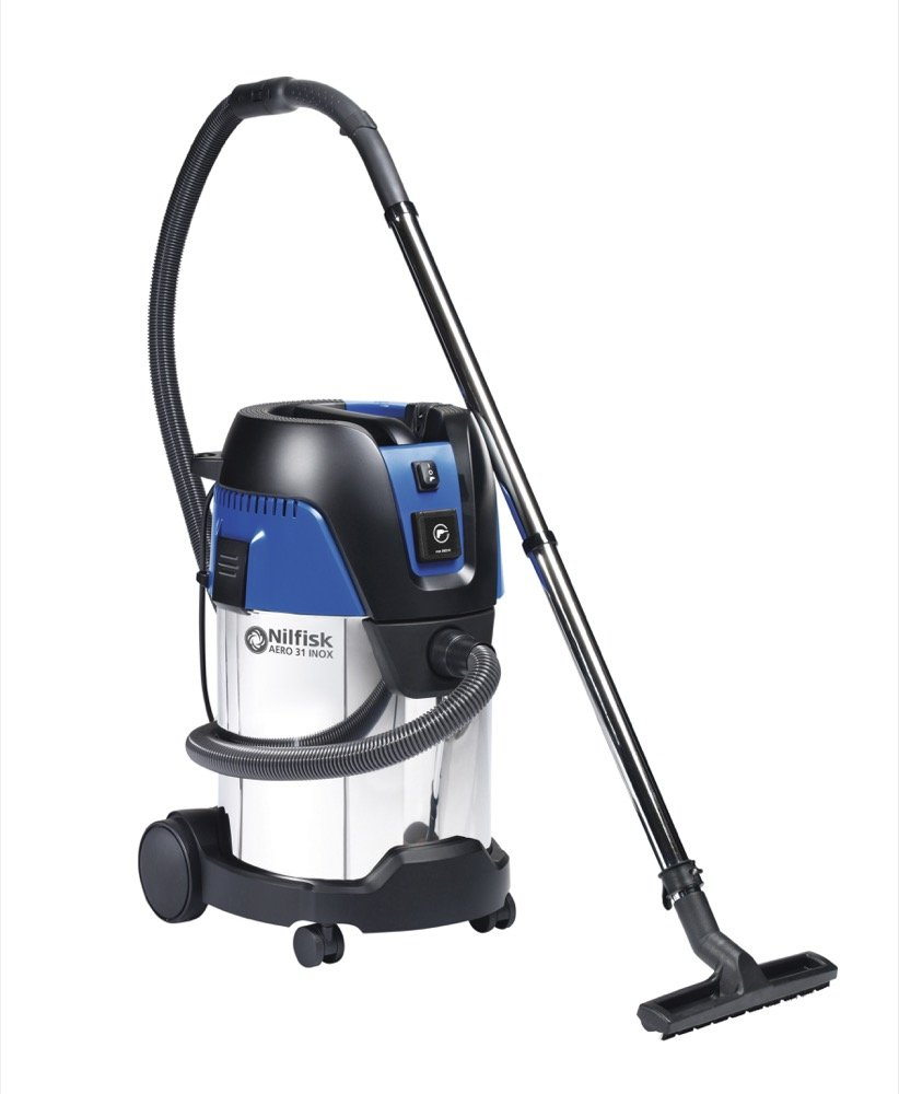 Aero 31 Professional Wet/Dry Vac, 8 Gal., Stainless