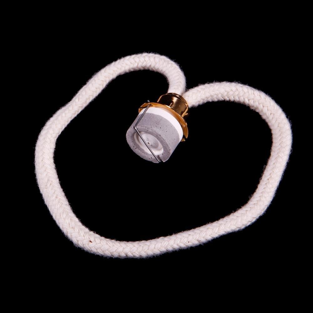 Uteruik Remplacement Parfum Charmant Belle Lampe à Huile mèche brûleur diffuseur Aromatherapy catalytique 01