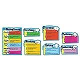 CDP110014 - Carson Dellosa The Writing Process Bulletin Board Set