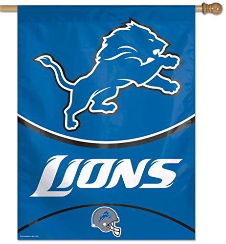 NFL Detroit Lions 27-by-37-Inch Vertical Flag ()