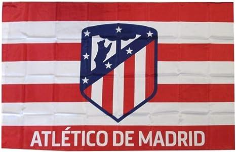 ATLETICO MADRID Bandera Oficial 150 x 100 cm: Amazon.es ...