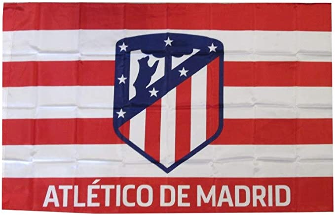 ATLETICO MADRID Bandera Oficial 150 x 100 cm: Amazon.es: Deportes y aire libre