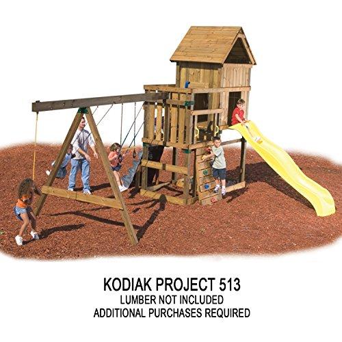 032866050103 - Kodiak Custom Play Set Hardware Kit (wood not included) carousel main 4
