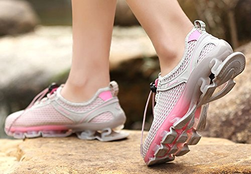 Shoes D Lovers Shoes Trainers Large Size Breathable Shoes Sneakers Color Outdoor Mesh Unisex Size Running Shoes Hiking 39 Men's vaaw4PBqf