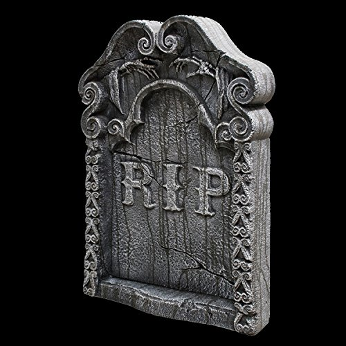 REST IN PEACE TOMBSTONE GRAVEYARD HAUNTED HOUSE HALLOWEEN
