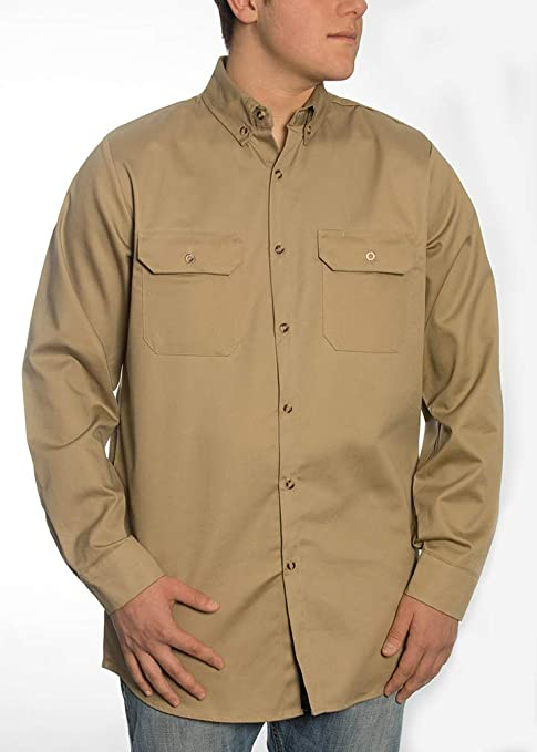 a39fa8f64fd3 Image Unavailable. Image not available for. Color  FR Shirt - Fire Resistant  ...