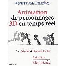 Animation de person..  3d+cd