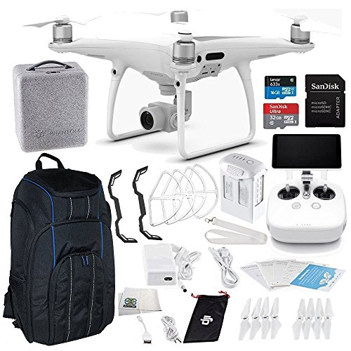 DJI Phantom 4 PRO+ Plus Quadcopter Starter Kit Pro Backpack Bundle