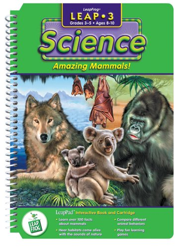 LeapPad 3 - Science - Amazing Mammals - Leap Pad Games Science