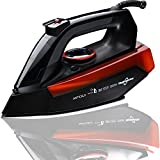 Hephaestus Steam Iron 1200 Watt Nonstick Ceramics Soleplate...