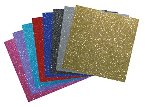 Glitter Vinyl Assortment Pack 12