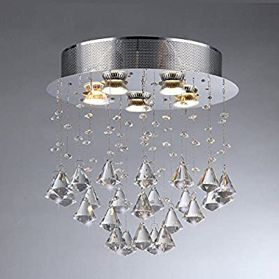 Catherine Crystal Hanging Lamp