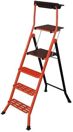 Escalera de acero pintado, 90 cm: Amazon.es: Bricolaje y herramientas