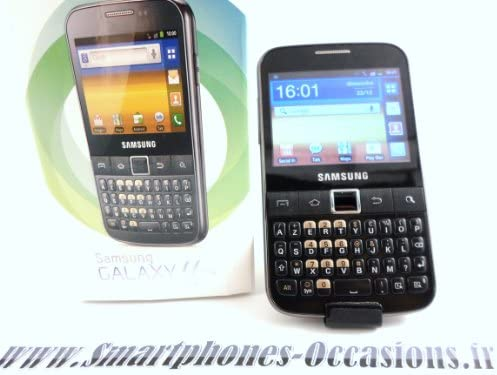 Samsung Galaxy Y Pro - Smartphone libre Android color negro ...