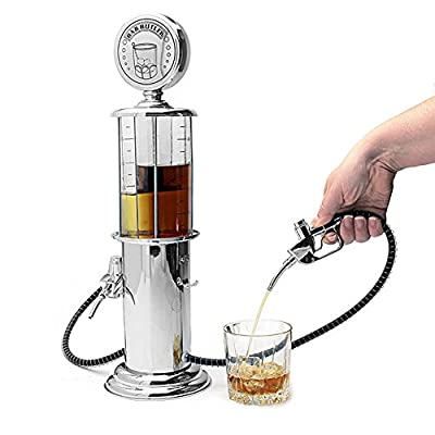 Liquor Decanter Beer Mini Bar Accessories Gas Station Style Liquid Drinking Separate Tools Inverted Wine Rack Water Pump Dispenser Machine