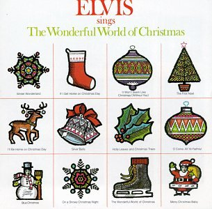 Image result for wonderful world of christmas elvis